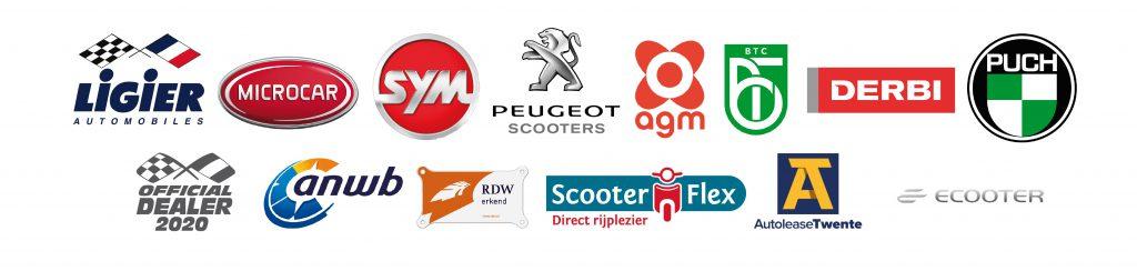 Partners van TDM Scooters & Brommobielen