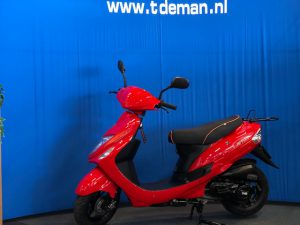 IVA Jet snorscooter rood
